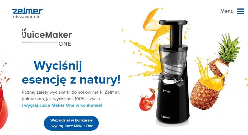 Juice Maker One_Zelmer_www
