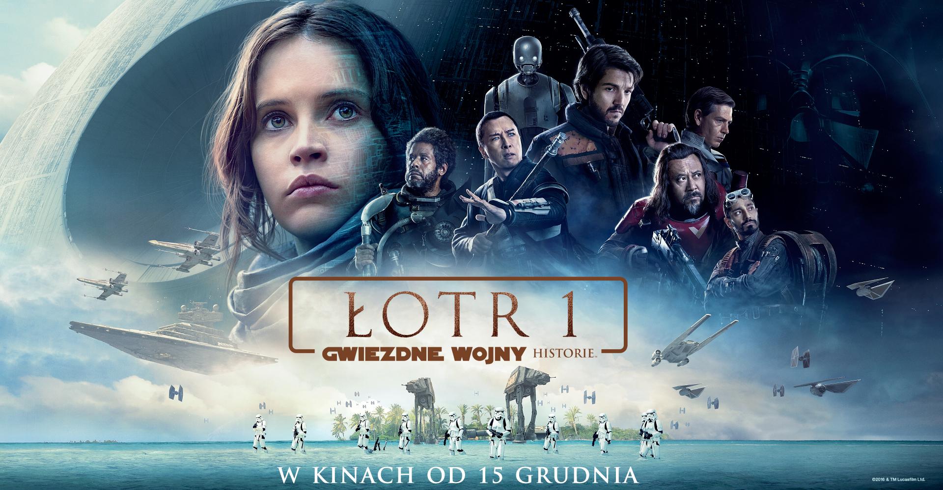 """Promujemy """"Łotr 1. Gwiezdne wojny – historie"""" dla Cinema City"""