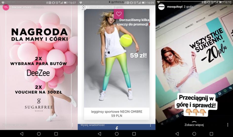 Instagram - reklama